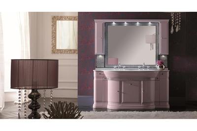 Итальянская мебель для ванной COMP. N.6 LUXURY фабрики EURODESIGN