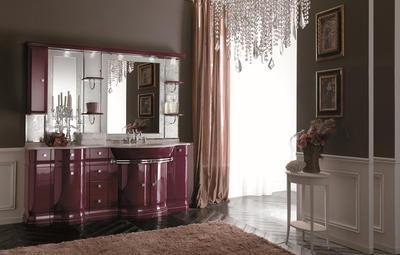 Итальянская мебель для ванной COMP. N.8 LUXURY фабрики EURODESIGN