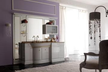 Итальянская мебель для ванной COMP. N.10 LUXURY фабрики EURODESIGN