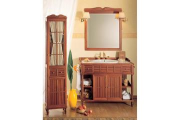 Итальянская мебель для ванной COMP. N.3 GREEN & ROSES фабрики EURODESIGN