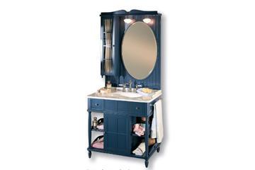 Итальянская мебель для ванной COMP. N.4 GREEN & ROSES фабрики EURODESIGN