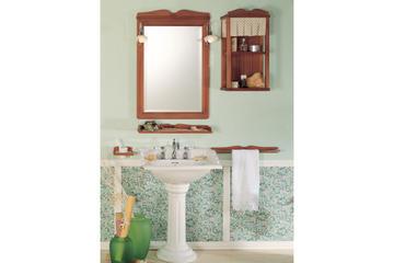 Итальянская мебель для ванной COMP. N.10 GREEN & ROSES фабрики EURODESIGN