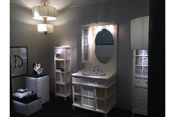 Итальянская мебель для ванной COMP. N.11 GREEN & ROSES фабрики EURODESIGN