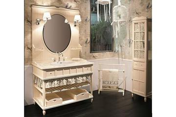 Итальянская мебель для ванной COMP. N.12 GREEN & ROSES фабрики EURODESIGN