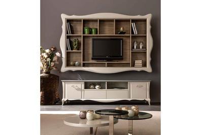 Итальянская мебель для ТВ ALICE фабрики CORTEZARI