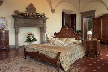 Итальянская кровать 9088 фабрики STILE LEGNO