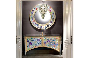 Итальянская мебель для ванных Saraya AB 606/FG-D фабрики ELLEDUE