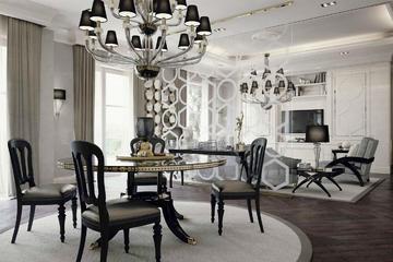 Итальянская гостиная Luxury Project фабрики ELLEDUE Композиция 03