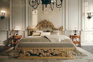 Итальянская спальня Luxury Project фабрики ELLEDUE Композиция 06