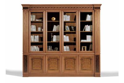 Итальянский книжный шкаф Leonardo фабрики ELLEDUE