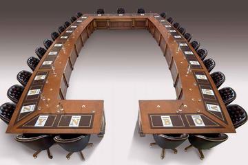 Итальянская мебель для конференц-залов Leonardo Meeting фабрики ELLEDUE