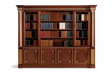 Итальянский книжный шкаф Tudor фабрики ELLEDUE