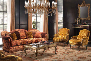 Итальянская мягкая мебель Hilton фабрики BEDDING