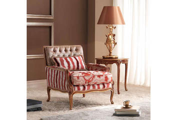 Итальянское кресло Dalia Club фабрики BEDDING