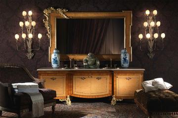 Итальянская мебель для ванной Hermes фабрики JUMBO COLLECTION