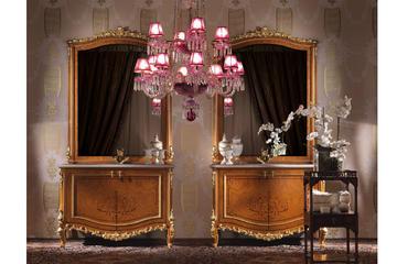 Итальянская мебель для ванной Nadine фабрики JUMBO COLLECTION