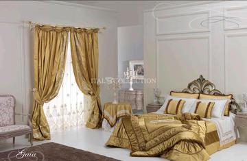 Итальянский текстиль для спален Gaia фабрики BM Style