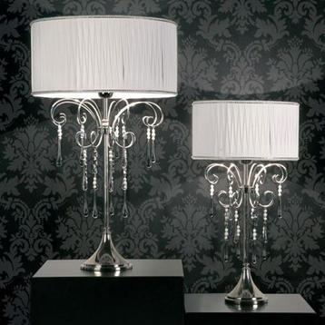 Итальянская настольная лампа Quadrotti NCL 121/BIANCO фабрики JAGO