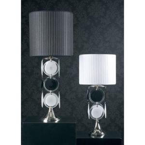 Итальянская настольная лампа Anni 70 NCL 135 B/N NERO фабрики JAGO