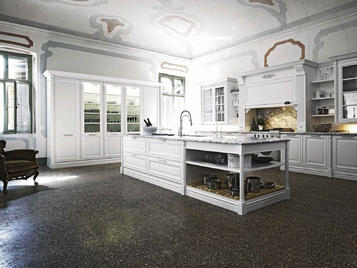 В нашем салоне: итальянская кухня Elite 02 фабрики Cesar