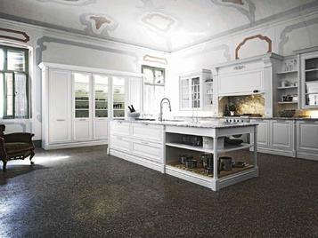 В салоне: итальянская кухня Elite 02 фабрики Cesar