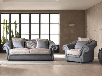 Итальянская мягкая мебель Boston фабрики Cis Salotti