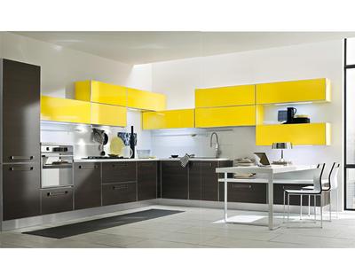 Итальянская кухня Progetto sistema telaio alluminio 03 фабрики AR-TRE