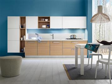 Итальянская кухня Progetto sistema telaio alluminio 05 фабрики AR-TRE