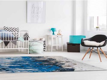 Ковер Surf  Blue Waves фабрики Louis de Poortere