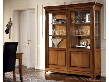Итальянская 2-х дверная витрина Matisse 01 308 фабрики FM BOTTEGA D'ARTRE