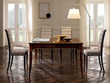 Итальянский квадратный стол Matisse 02 фабрики FM BOTTEGA D'ARTRE