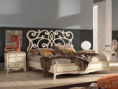 Итальянская кровать Monet 823 фабрики FM BOTTEGA D'ARTRE