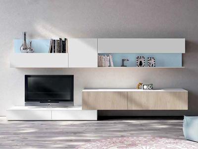 Итальянская мебель для ТВ Smart 02 фабрики SPAGNOL CUCINE