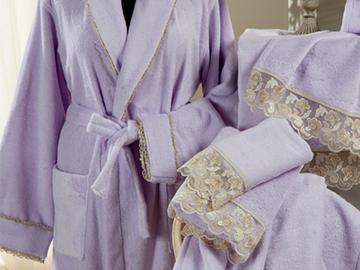 Итальянские полотенца и халаты Viola фабрики Ricam Art