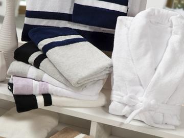 Итальянские полотенца и халаты Fregene фабрики Ricam Art