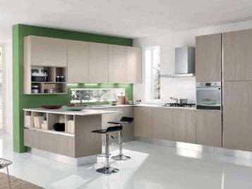 Итальянская кухня MIKONOS 03 фабрики CONCRETA