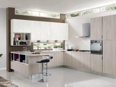 Итальянская кухня MIKONOS 04 фабрики CONCRETA