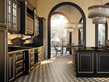 Итальянская кухня ROYALE 03 фабрики CONCRETA