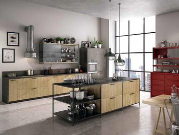 Итальянская кухня URBAN 01 фабрики CONCRETA