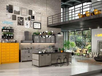 Итальянская кухня URBAN 02 фабрики CONCRETA