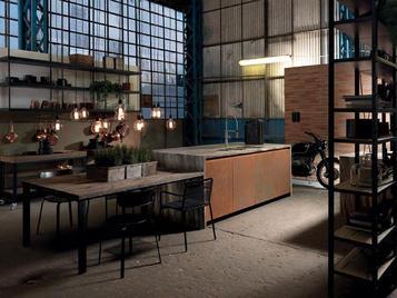 Итальянская кухня FACTORY 04 фабрики ASTER
