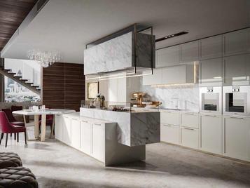 Итальянская кухня GLAMOUR 02 фабрики OLDLINE
