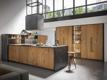 Итальянская кухня INDUSTRIAL 01 фабрики OLDLINE
