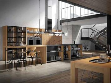Итальянская кухня INDUSTRIAL 02 фабрики OLDLINE