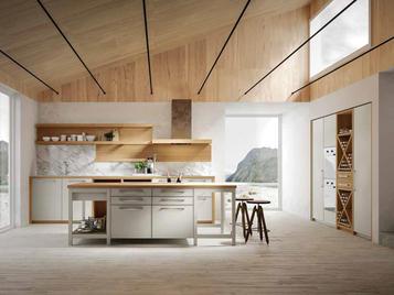 Итальянская кухня NORDICO 01 фабрики OLDLINE