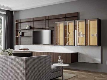 Итальянская мебель для ТВ BORGHESE фабрики OLDLINE