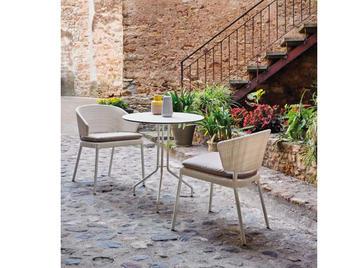 Испанский обеденный стул с подушкой FENNEC фабрики COLECCION ALEXANDRA