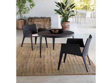 Испанский обеденный стул с подлокотниками U фабрики COLECCION ALEXANDRA