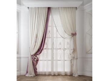 Итальянские шторы и тюль Kate фабрики Chicca Orlando
