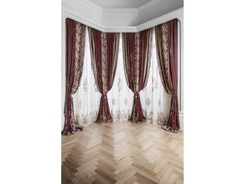 Итальянские шторы и тюль Palazzo фабрики Chicca Orlando